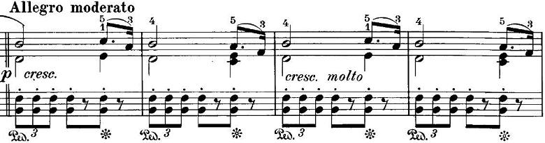 エステン「「アルプスの夕映え」変ロ長調Op.193」ピアノ楽譜9