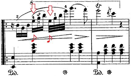 バダジェフスカ「「乙女の祈り」変ホ長調Op.4」ピアノ楽譜3