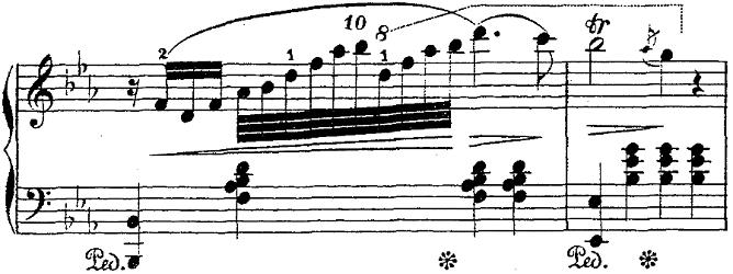 バダジェフスカ「「乙女の祈り」変ホ長調Op.4」ピアノ楽譜4