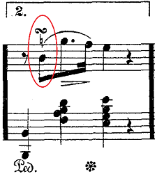バダジェフスカ「「乙女の祈り」変ホ長調Op.4」ピアノ楽譜5