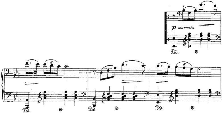 バダジェフスカ「「乙女の祈り」変ホ長調Op.4」ピアノ楽譜6
