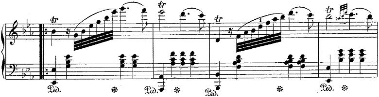 バダジェフスカ「「乙女の祈り」変ホ長調Op.4」ピアノ楽譜7