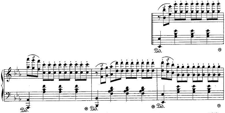 バダジェフスカ「「乙女の祈り」変ホ長調Op.4」ピアノ楽譜8