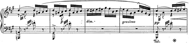 メンデルスゾーン「「春の歌」Op.62-6」ピアノ楽譜5