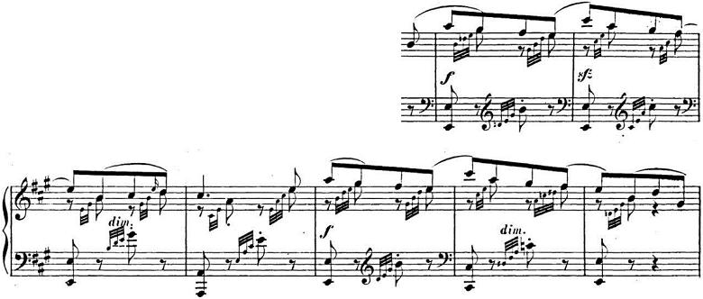 メンデルスゾーン「「春の歌」Op.62-6」ピアノ楽譜6