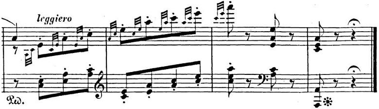 メンデルスゾーン「「春の歌」Op.62-6」ピアノ楽譜7