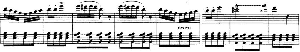 ベートーヴェン「「ロンド・ア・カプリッチョ(失われた小銭への怒り)」ト長調Op.129」ピアノ楽譜2