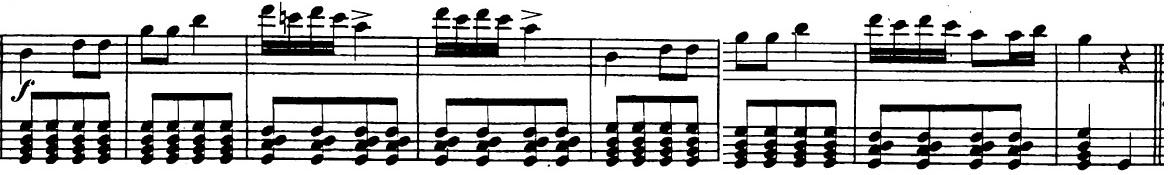 ベートーヴェン「「ロンド・ア・カプリッチョ(失われた小銭への怒り)」ト長調Op.129」ピアノ楽譜3