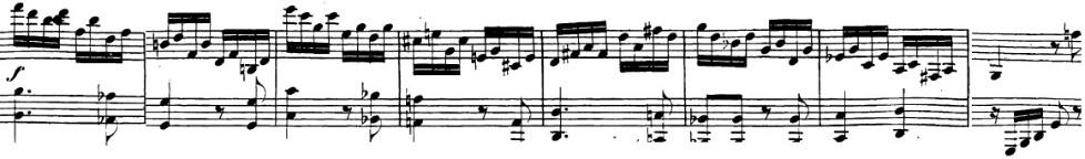 ベートーヴェン「「ロンド・ア・カプリッチョ(失われた小銭への怒り)」ト長調Op.129」ピアノ楽譜6