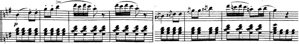 ベートーヴェン「「ロンド・ア・カプリッチョ(失われた小銭への怒り)」ト長調Op.129」ピアノ楽譜9