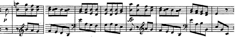 ベートーヴェン「「ロンド・ア・カプリッチョ(失われた小銭への怒り)」ト長調Op.129」ピアノ楽譜12