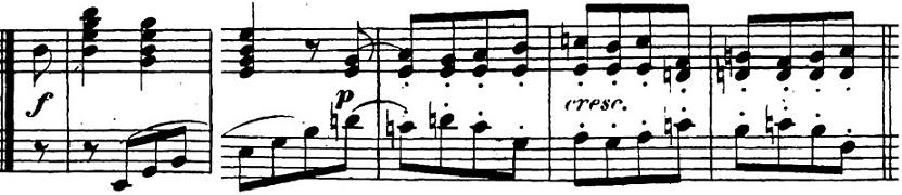 ベートーヴェン「「ロンド・ア・カプリッチョ(失われた小銭への怒り)」ト長調Op.129」ピアノ楽譜13
