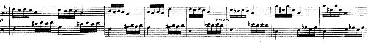 ベートーヴェン「「ロンド・ア・カプリッチョ(失われた小銭への怒り)」ト長調Op.129」ピアノ楽譜15