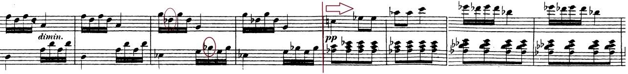 ベートーヴェン「「ロンド・ア・カプリッチョ(失われた小銭への怒り)」ト長調Op.129」ピアノ楽譜16