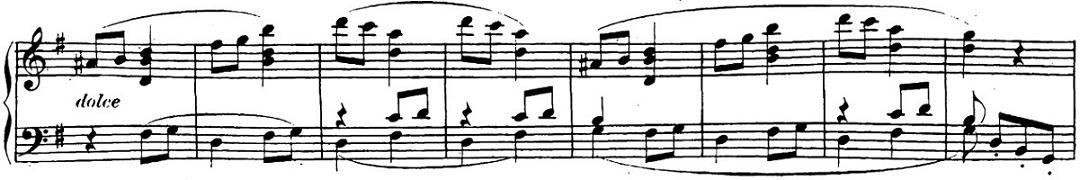 ベートーヴェン「「ロンド・ア・カプリッチョ(失われた小銭への怒り)」ト長調Op.129」ピアノ楽譜20