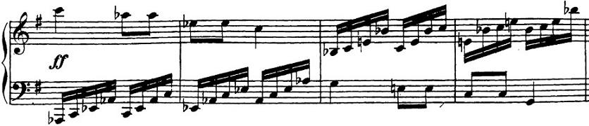ベートーヴェン「「ロンド・ア・カプリッチョ(失われた小銭への怒り)」ト長調Op.129」ピアノ楽譜24