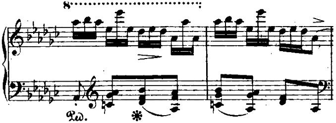 ショパン「「黒鍵のエチュード」Op.10-5変ト長調」ピアノ楽譜3