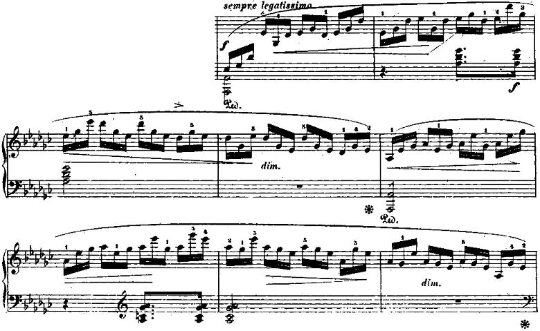 ショパン「「黒鍵のエチュード」Op.10-5変ト長調」ピアノ楽譜5