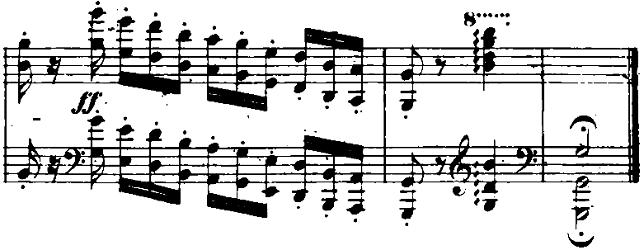 ショパン「「黒鍵のエチュード」Op.10-5変ト長調」ピアノ楽譜9