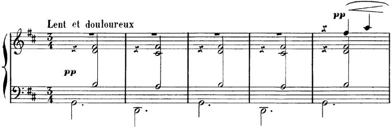 サティ「ジムノペディ第1番」ピアノ楽譜1