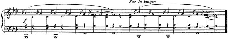 サティ「グノシエンヌ第1番」ピアノ楽譜2