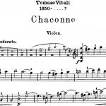 「ヴィターリのシャコンヌ」ヴァイオリンの難易度と弾き方を解説!