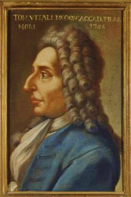 トマソ・アントニオ・ヴィターリ(Tomaso Antonio Vitali/1663-1745)