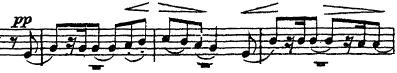 チャイコフスキー「交響曲第5番ホ短調Op.64」トランペット楽譜2
