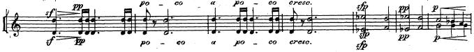 チャイコフスキー「交響曲第5番ホ短調Op.64」トランペット楽譜8