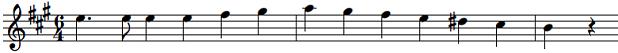 移調読み楽譜AからC2