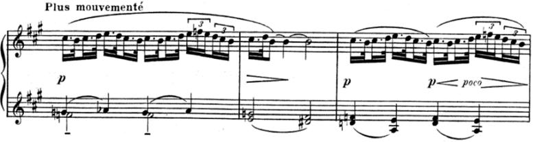 ドビュッシー「子供の領分 第5曲「小さな羊飼い」」ピアノ楽譜2