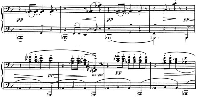 ドビュッシー「子供の領分 第2曲「象の子守歌」」ピアノ楽譜