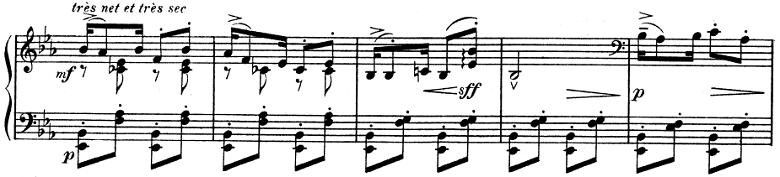 ドビュッシー「子供の領分 第6曲「ゴリウォーグのケーク・ウォーク」」ピアノ楽譜