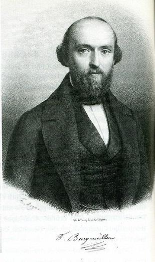 ヨハン・ブルグミュラー(Johann Burgmüller/1806-1874)
