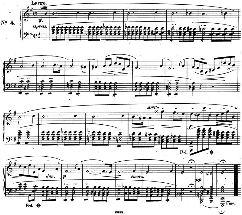 ショパン「前奏曲(プレリュード)第4番」ピアノ楽譜