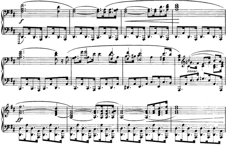 ショパン「即興曲第2番」ピアノ楽譜2