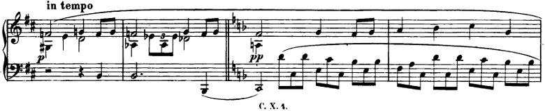 ショパン「即興曲第2番」ピアノ楽譜3