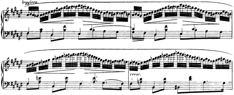 ショパン「即興曲第2番」ピアノ楽譜4