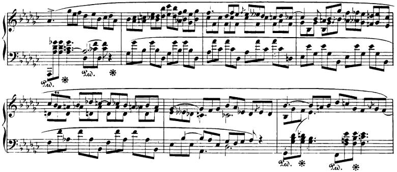 ショパン「即興曲第3番」ピアノ楽譜